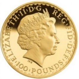 Gold British Royal Mint Coin