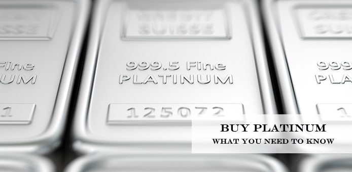 buying platinum bullion online