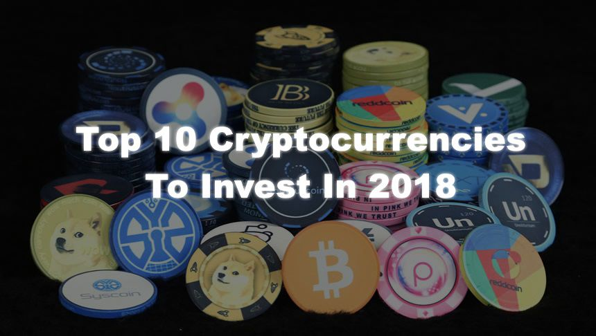 featured image - top cryptocurrencies for 2018